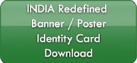 India Redefined Banner/Poster/ID Card